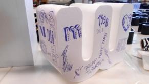 3D-Buchstabe-XXL-Styropor