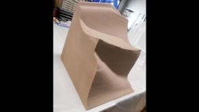 Skulptur-3D-Objekt-Styropor