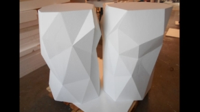 XXXL-3D-Objekte-Hartschaum