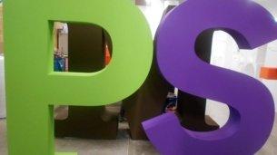 3D-Buchstaben-Hartschaum-Gruen-Lila