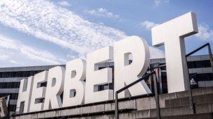 3D-Buchstaben aus Styropor für Adidas-Veranstaltung