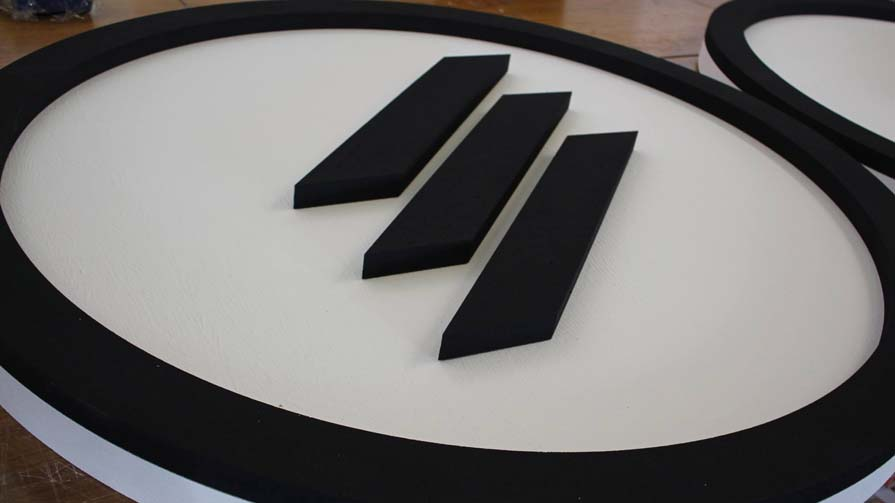 3D Logo in XXL Detail