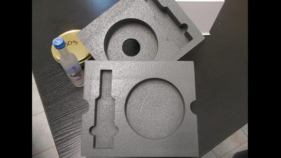 Styropor-Verpackung 3D-Formteile